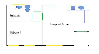 Sheltered Houseing floor plan